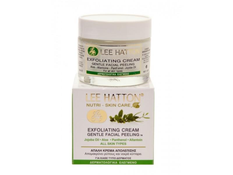 Lee Hatton Exfoliating Cream - Gentle Facial Peeling Exfoliator & Mask