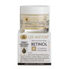 Lee Hatton RETINOL - Triple Action Face Cream Αντιγήρανση & Ανάπλαση