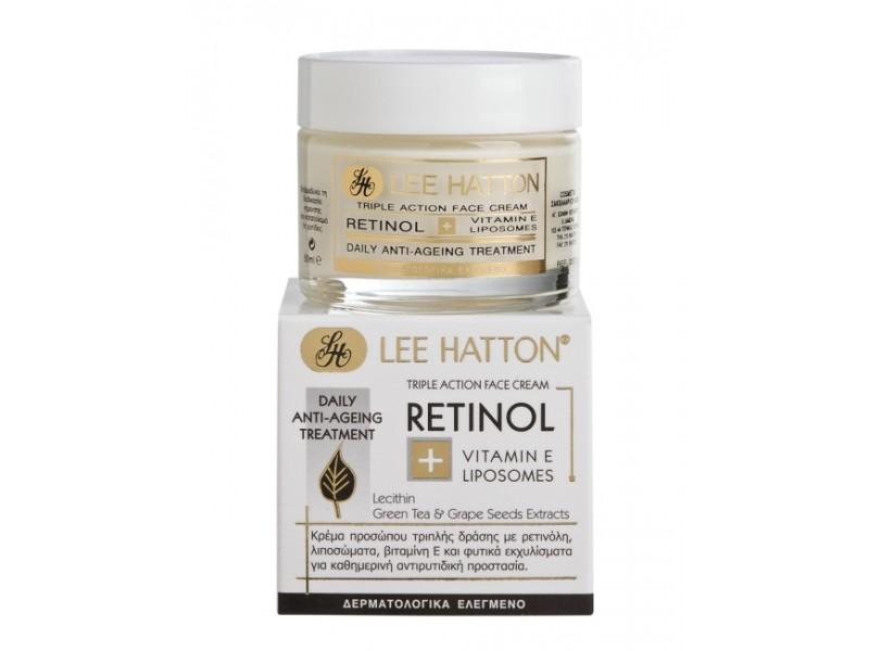 Lee Hatton RETINOL - Triple Action Face Cream Anti-ageing & Regeneration