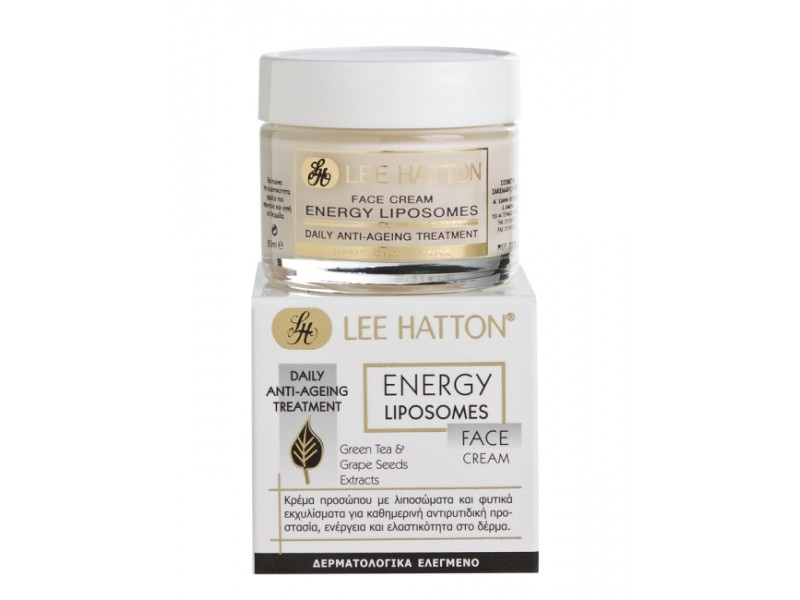 Lee Hatton Energy Liposomes FACE Cream Anti-ageing & Regeneration