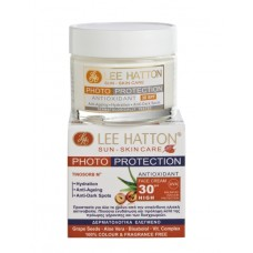 Lee Hatton PHOTO-PROTECTION Antioxidant Face Cream Sun Control SPF30 Αντηλιακή Φροντίδα