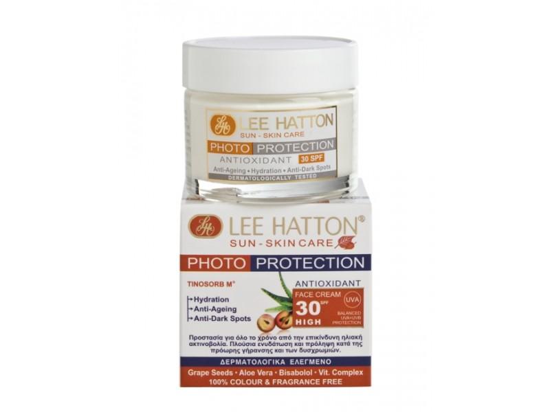Lee Hatton PHOTO-PROTECTION Antioxidant Face Cream Sun Control SPF30 Sun-Skin Care