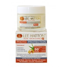Lee Hatton PHOTO-PROTECTION Antioxidant Face Cream Sun Control SPF50 Αντηλιακή Φροντίδα