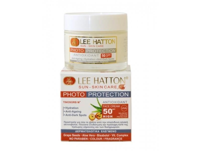 Lee Hatton PHOTO-PROTECTION Antioxidant Face Cream Sun Control SPF50 Sun-Skin Care