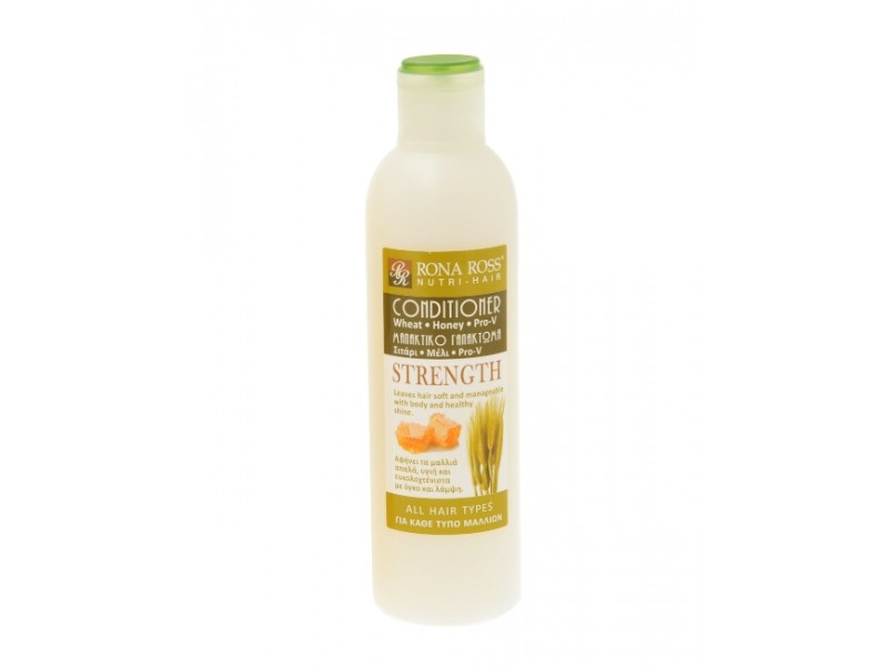 Rona Ross Conditioner STRENGHT - Wheat / Honey / Pro-V Shampoo / Conditioner