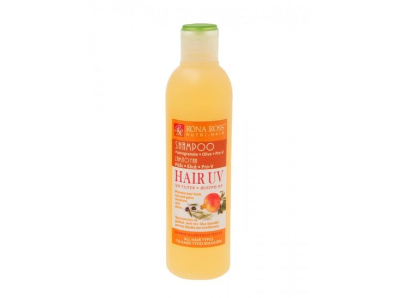 Rona Ross Shampoo HAIR UV - Pomegranate / Olive / Pro-V  Shampoo / Conditioner