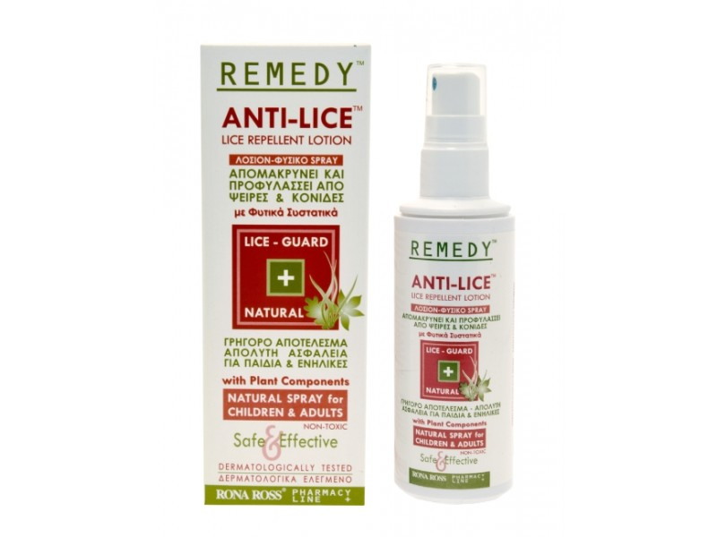 Rona Ross REMEDY Anti-Lice Lotion Special Treatments