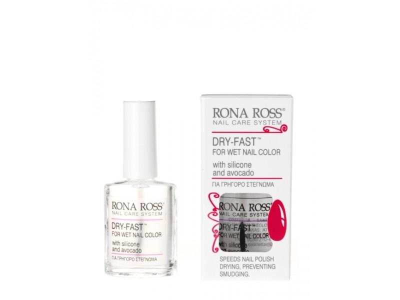 Rona Ross Dry Fast - Avocado nails