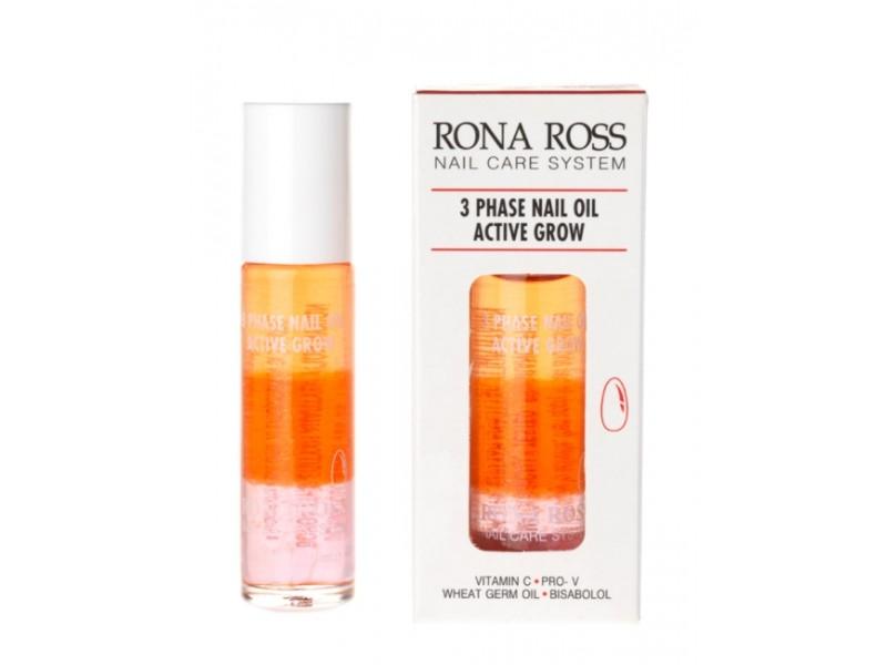 Rona Ross 3-Phase Nail Oil - Active Grow nails
