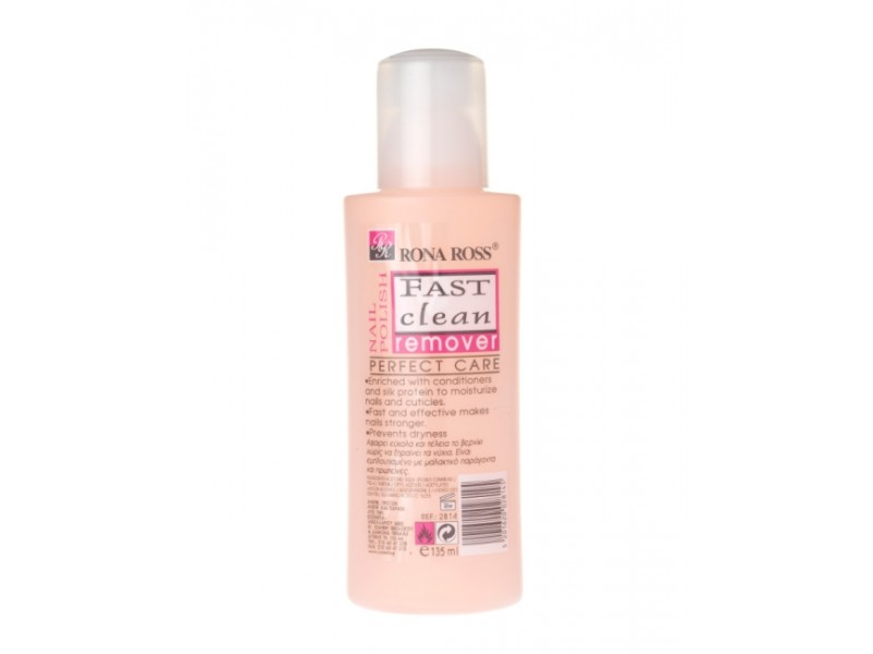 Rona Ross Fast Clean Remover - Silk, Keratin nails