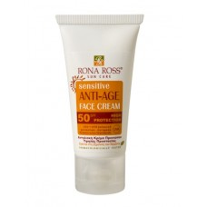 Rona Ross Sensitive antiage face cream SPF 50 sun care