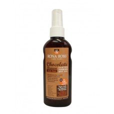 Rona Ross Chocholate Brown Sun Tan Dry Oil SPF 15 sun care