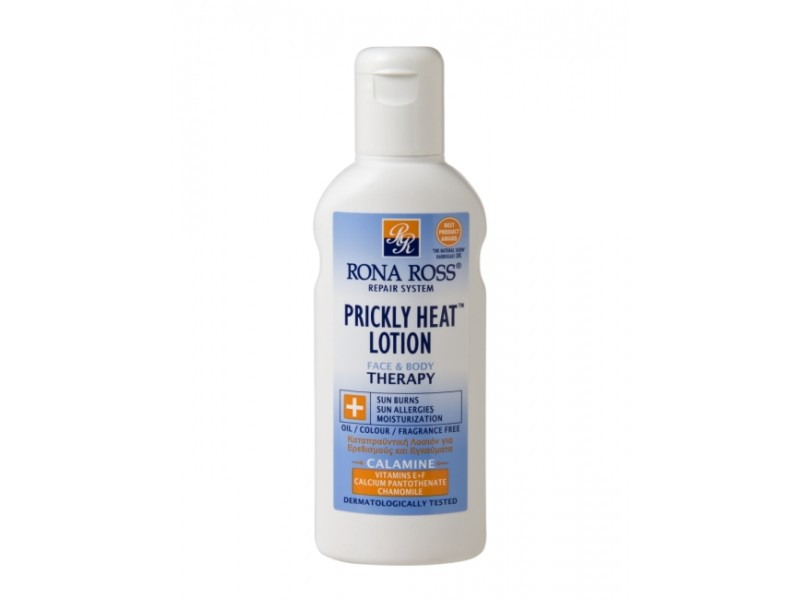 Rona Ross Prickly Heat Lotion  sensitive skin & aftersun