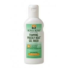 Rona Ross Foaming Prickly Heat Gel Wash sensitive skin & aftersun