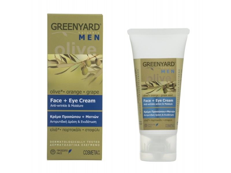 Greenyard Face + Eye Cream M E N