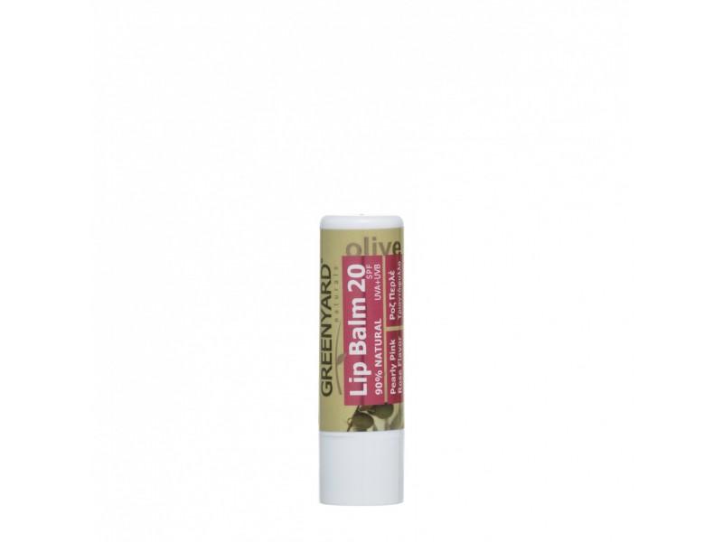 Greenyard Lip Balm Rose SPF20 face care