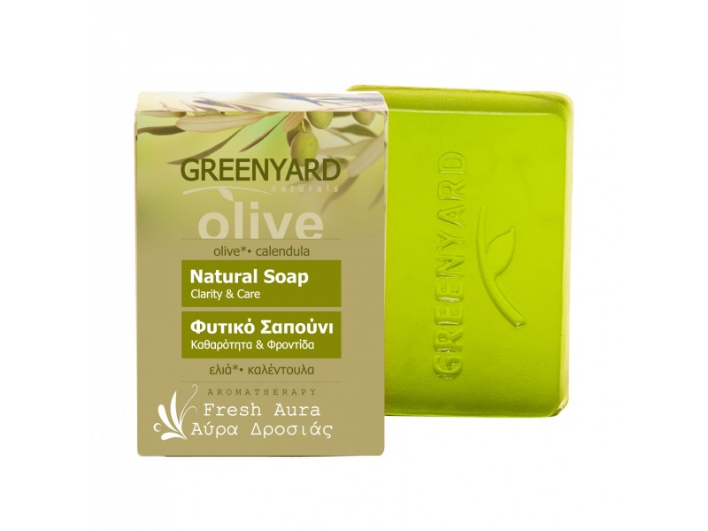 Greenyard Natural Soap Fresh Aura natural soaps